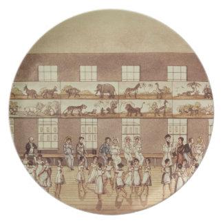 Mr Owen's Institution, New Lanark (Quadrille Danci Plate