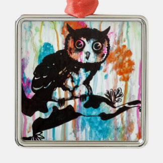 Mr Owl Christmas Ornament