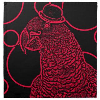 Mr parrot napkin