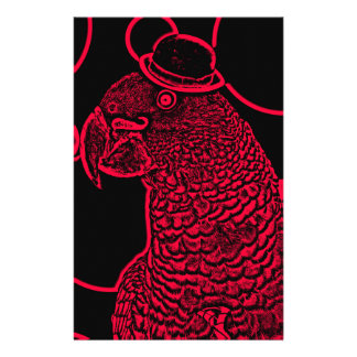 Mr parrot stationery