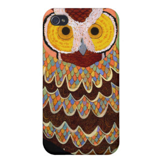 Mr. Pattern Owl iphone 4 Case For iPhone 4