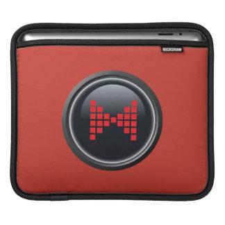 Mr. Peabody Bowtie Button iPad Sleeve