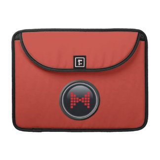 Mr. Peabody Bowtie Button Sleeve For MacBook Pro
