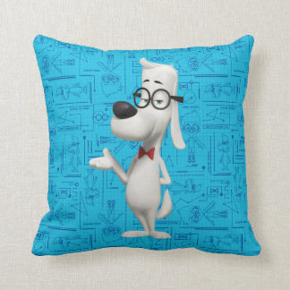 Mr. Peabody Cushion