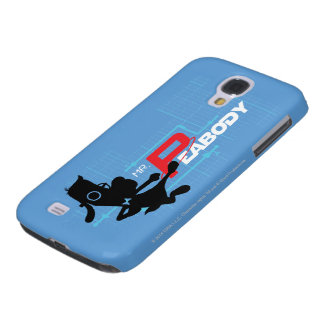 Mr. Peabody Digi Galaxy S4 Case