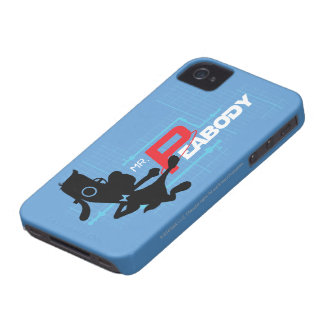 Mr. Peabody Digi iPhone 4 Case-Mate Cases
