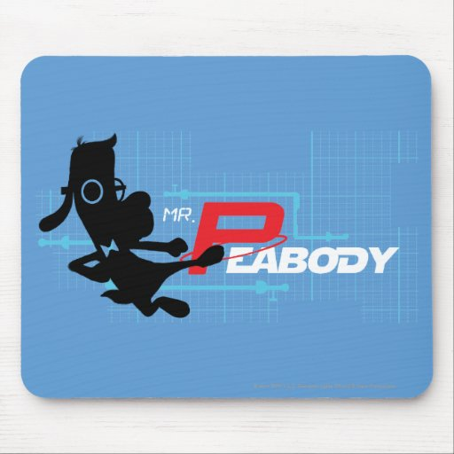 Mr. Peabody Digi Mouse Pad