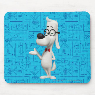 Mr. Peabody Mouse Mat