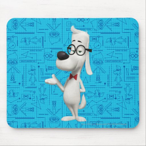 Mr. Peabody Mouse Pads