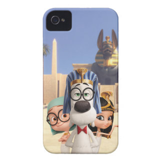 Mr. Peabody & Sherman in Egypt iPhone 4 Case-Mate Case