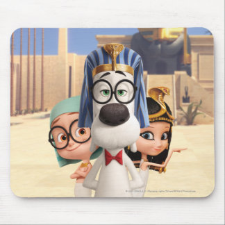 Mr. Peabody & Sherman in Egypt Mouse Mat
