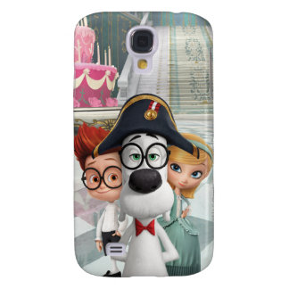 Mr. Peabody & Sherman in France Galaxy S4 Case