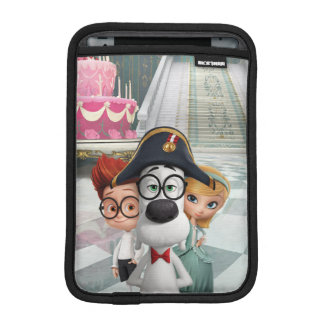 Mr. Peabody & Sherman in France iPad Mini Sleeve