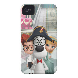 Mr. Peabody & Sherman in France iPhone 4 Covers