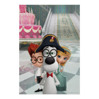 Mr. Peabody & Sherman in France Poster