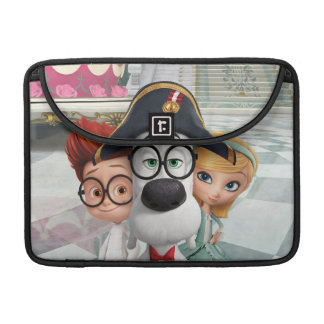 Mr. Peabody & Sherman in France Sleeve For MacBooks