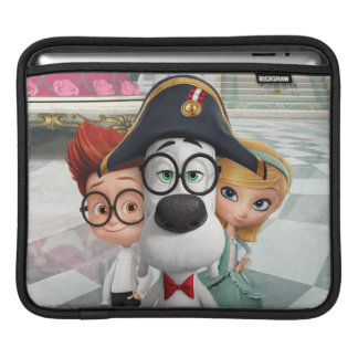 Mr. Peabody & Sherman in France Sleeves For iPads