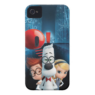 Mr. Peabody & Sherman in the Wabac Room Case-Mate iPhone 4 Cases