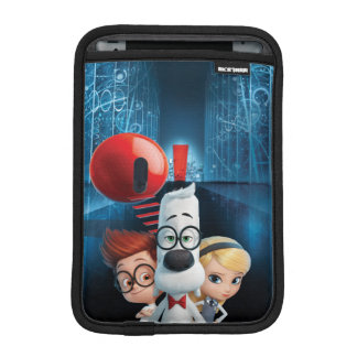 Mr. Peabody & Sherman in the Wabac Room iPad Mini Sleeve
