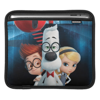 Mr. Peabody & Sherman in the Wabac Room iPad Sleeve