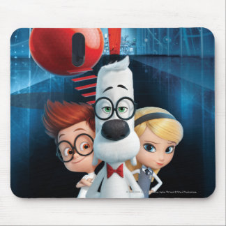 Mr. Peabody & Sherman in the Wabac Room Mouse Mat