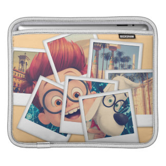 Mr. Peabody & Sherman Travel Selfie iPad Sleeve
