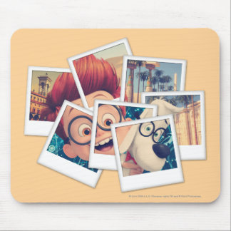 Mr. Peabody & Sherman Travel Selfie Mouse Mat