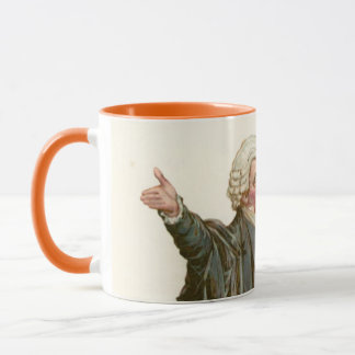 Mr Perker from Pickwick Papers Mug