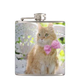 Mr. Perkins Proper Kitty Hip Flask