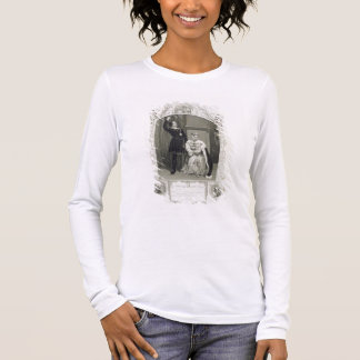 Mr Phelps as Hamlet and Miss Glyn as Queen Gertrud Long Sleeve T-Shirt