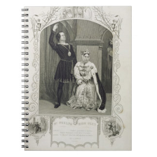 Mr Phelps as Hamlet and Miss Glyn as Queen Gertrud Notebooks