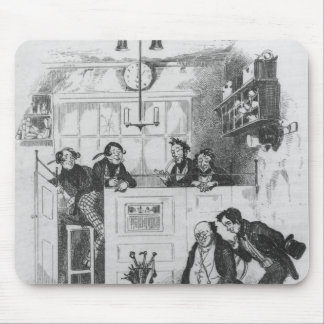 Mr. Pickwick and Sam in the attorney's office Mouse Pad