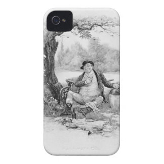 Mr Pickwick, from 'Charles Dickens: A Gossip about iPhone 4 Case