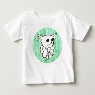 Mr. PiddlePoo the Chihuahua, a vision in green Baby T-Shirt