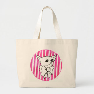 Mr. PiddlePoo the Chihuahua Large Tote Bag