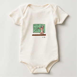Mr. Pig Baby Bodysuit