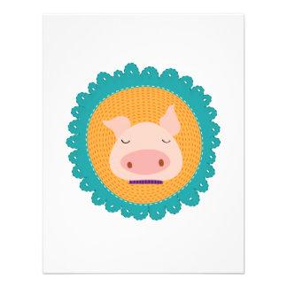 Mr Piggy Custom Invitation