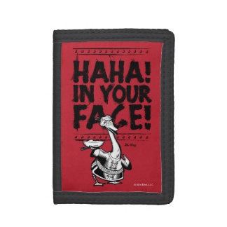Mr. Ping - HAHA! In Your Face! Trifold Wallet