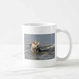 Mr. Pish at Ruby Beach Coffee Mug