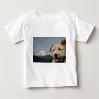 Mr. Pish Visits Mt. Rainier Baby T-Shirt