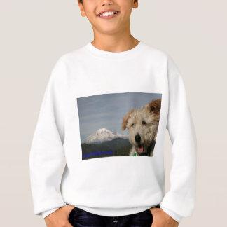 Mr. Pish Visits Mt. Rainier Sweatshirt