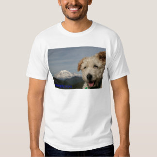 Mr. Pish Visits Mt. Rainier Tee Shirt