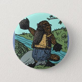 Mr Platypus Button