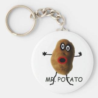 Mr Potato Cartoon Key Chains