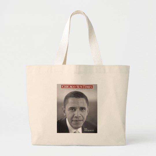 Mr. President Obama Large Tote Bag