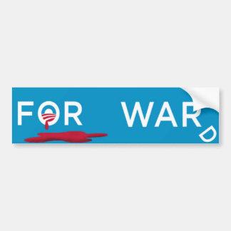 Mr. President, Read Our Lips, NO MORE WAR! Bumper Sticker