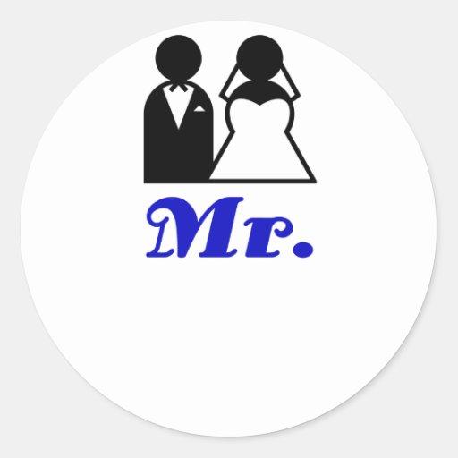 Mr products sticker