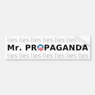 Mr Propaganda Bumper Stickers