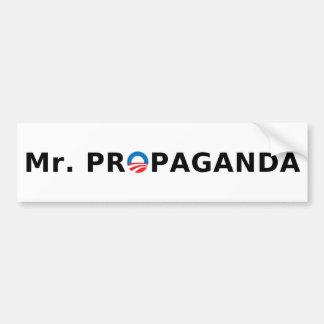 Mr Propaganda Bumper Sticker