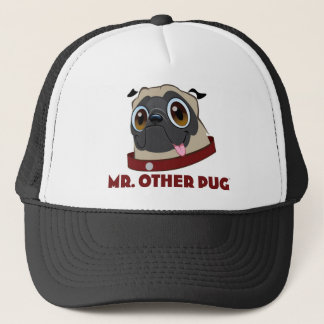 MR. PUG CLOTHES TRUCKER HAT